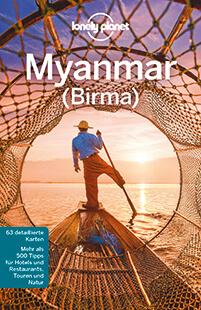 Lonely Planet – Myanmar (Birma) Cover