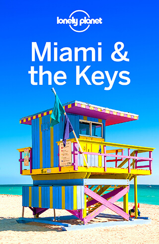Lonely Planet - Miami & The Keys Cover