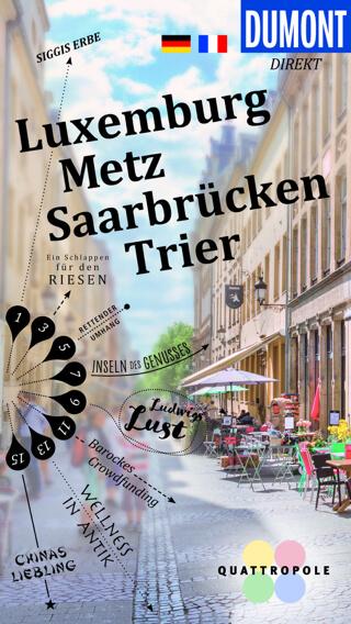 DuMont Direkt - Luxemburg/Metz/Saarbrücken/Trier (Cover)