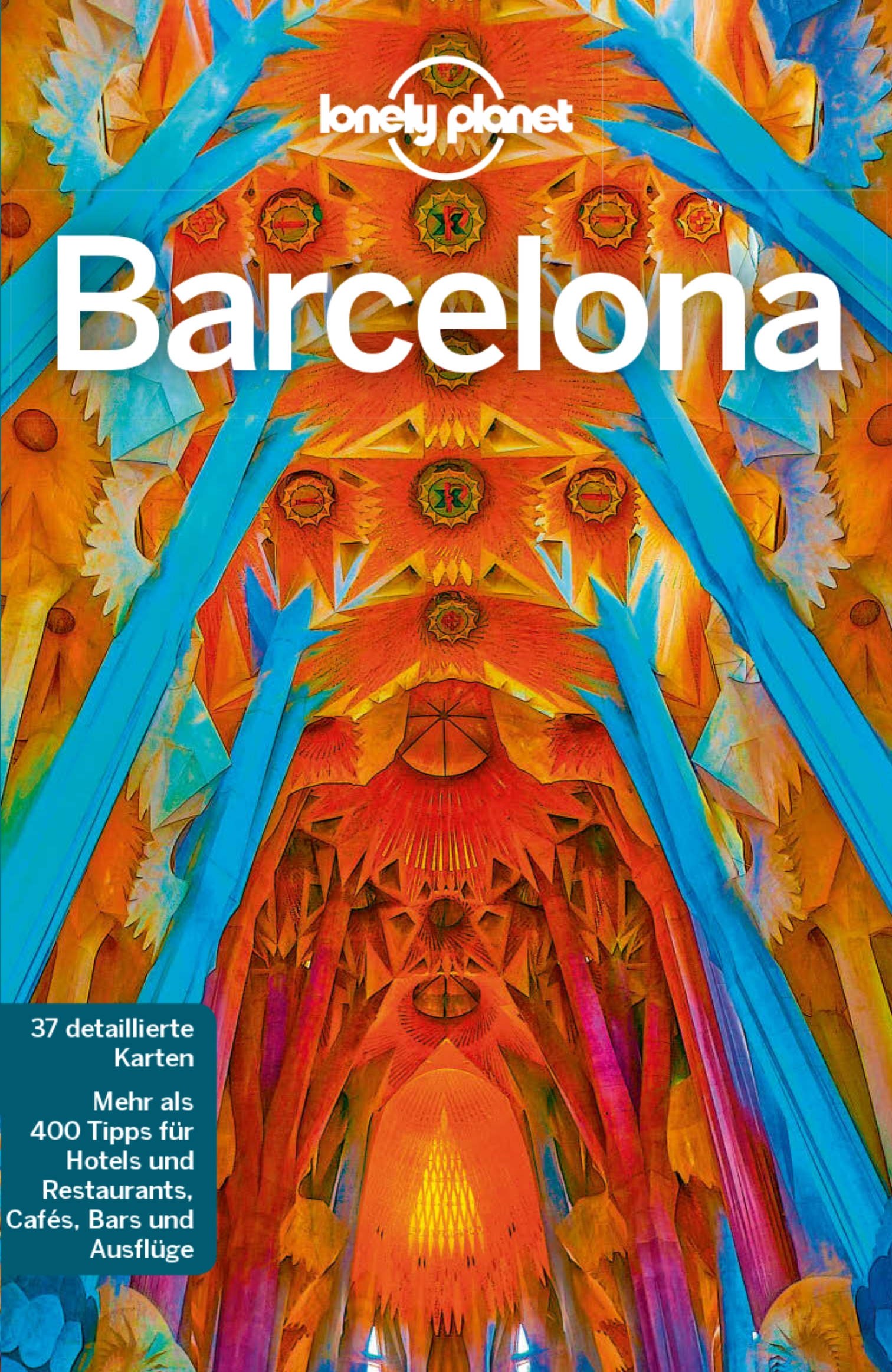 Lonely Planet - Barcelona (Cover)