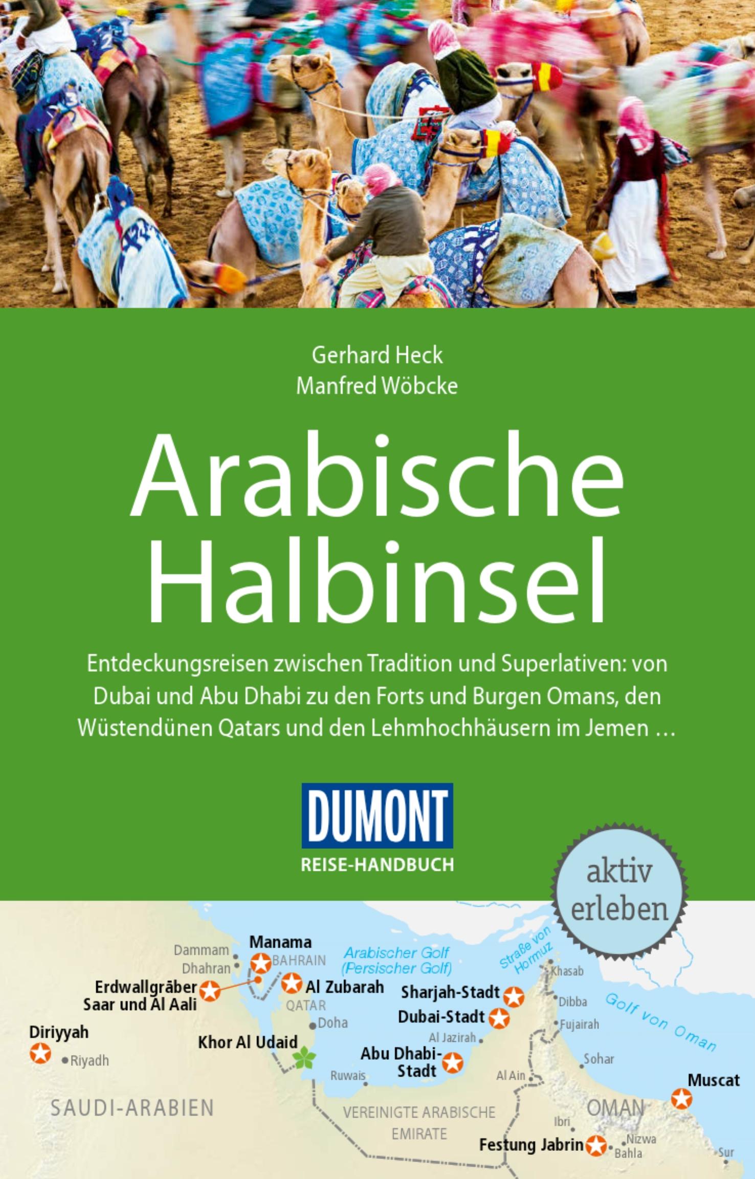 DuMont Reise-Handbuch - Arabische Halbinsel (Cover)