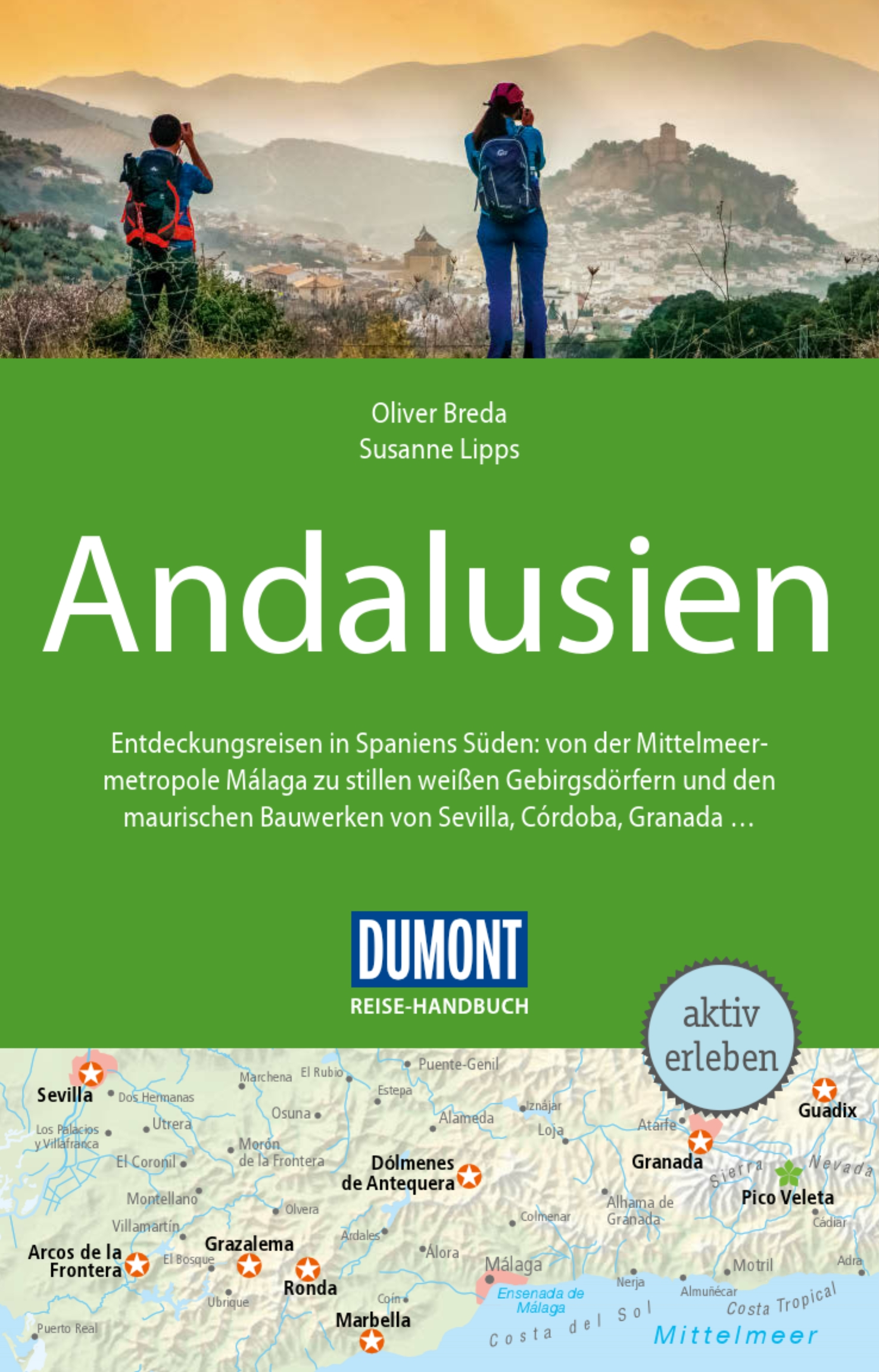 DuMont Reise-Handbuch - Andalusien (Cover)