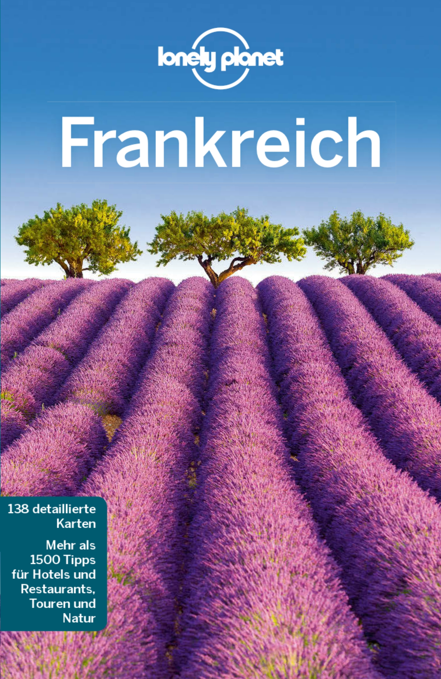 Lonely Planet - Frankreich (Cover)