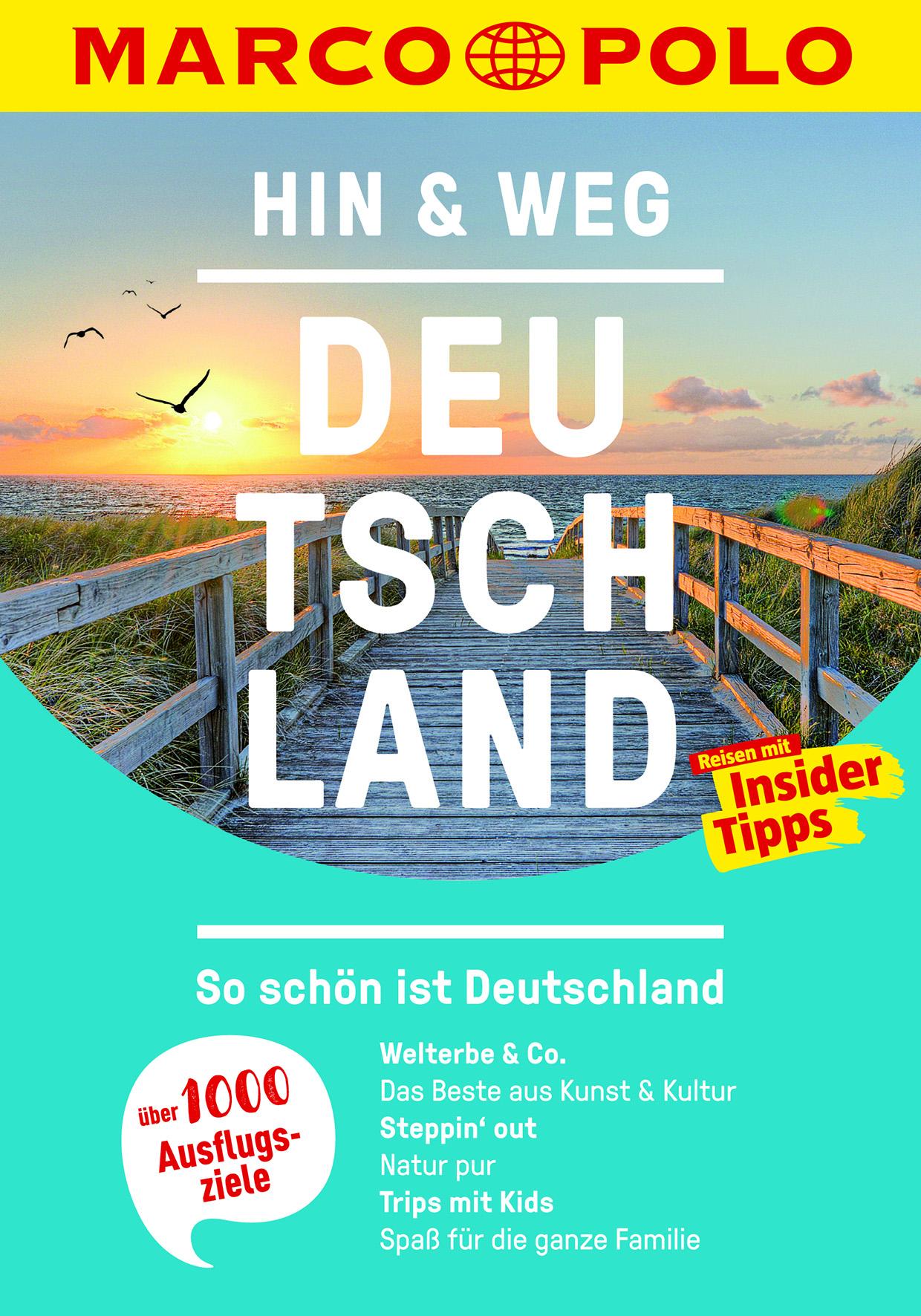 Marc Polo - Hin & Weg – Deutschland (Cover)