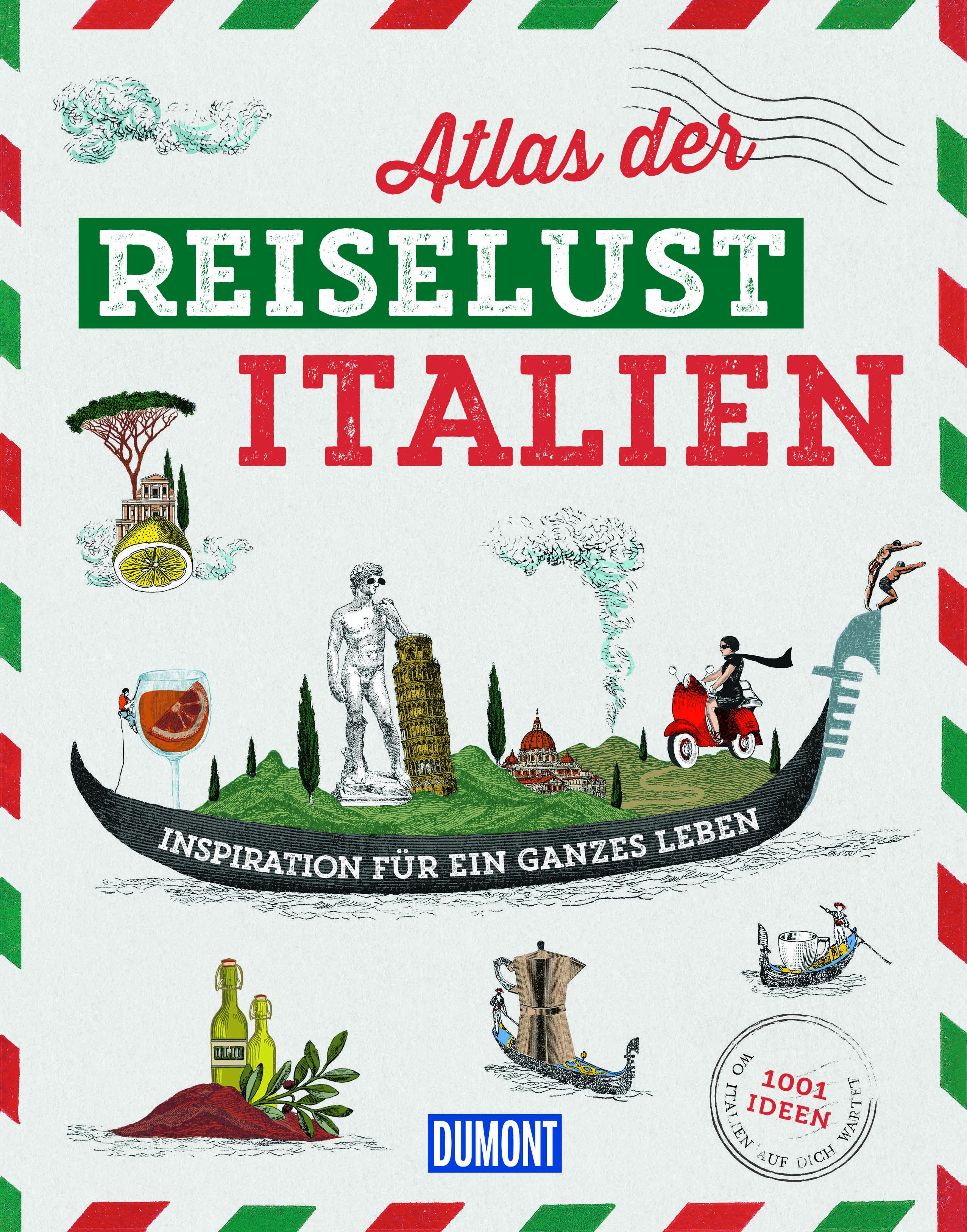 Atlas der Reiselust – Italien (Cover)