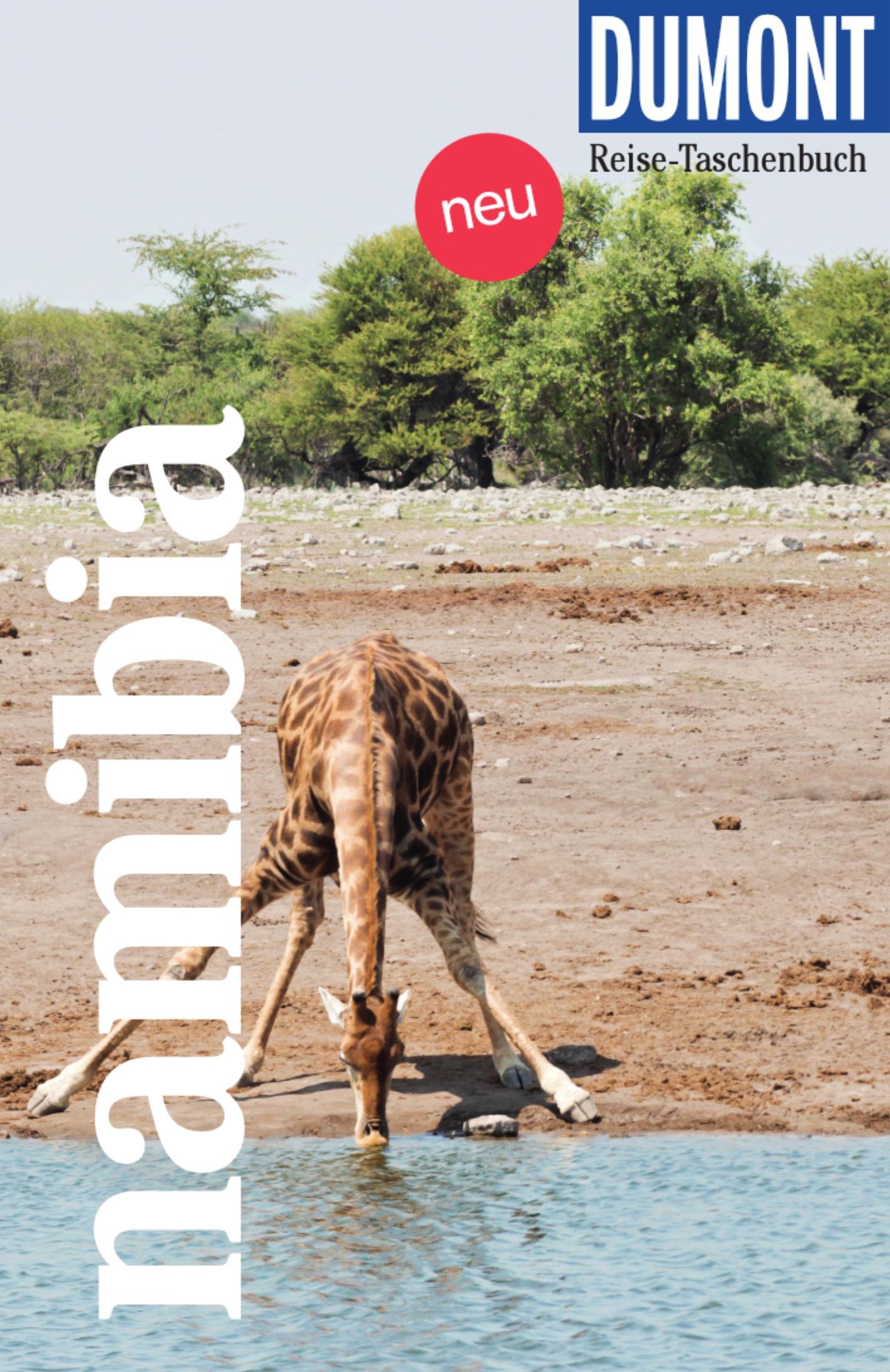 DuMont Reise-Taschenbuch – Namibia (Cover)