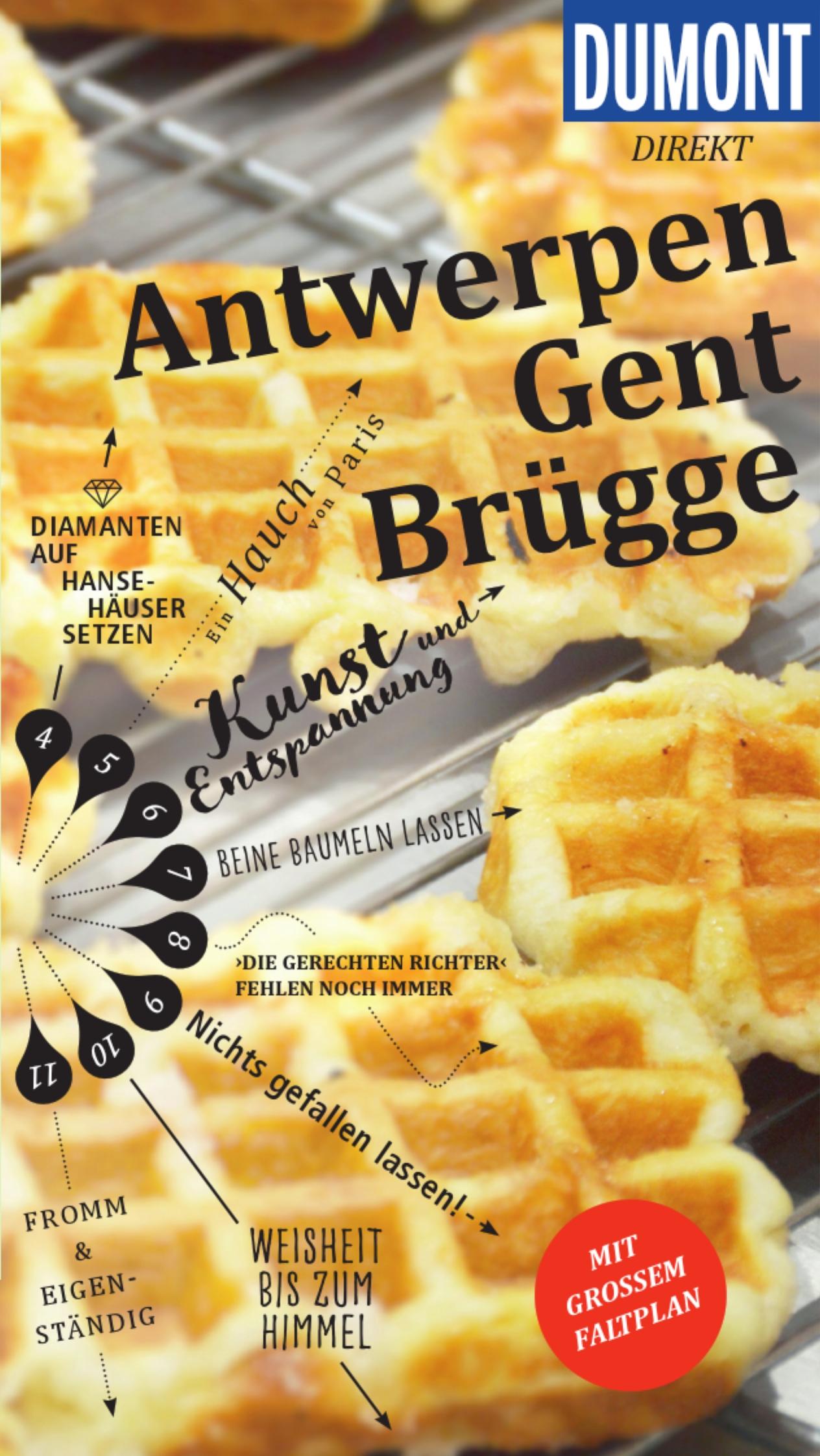 DuMont Direkt - Antwerpen, Brügge, Gent(Cover)