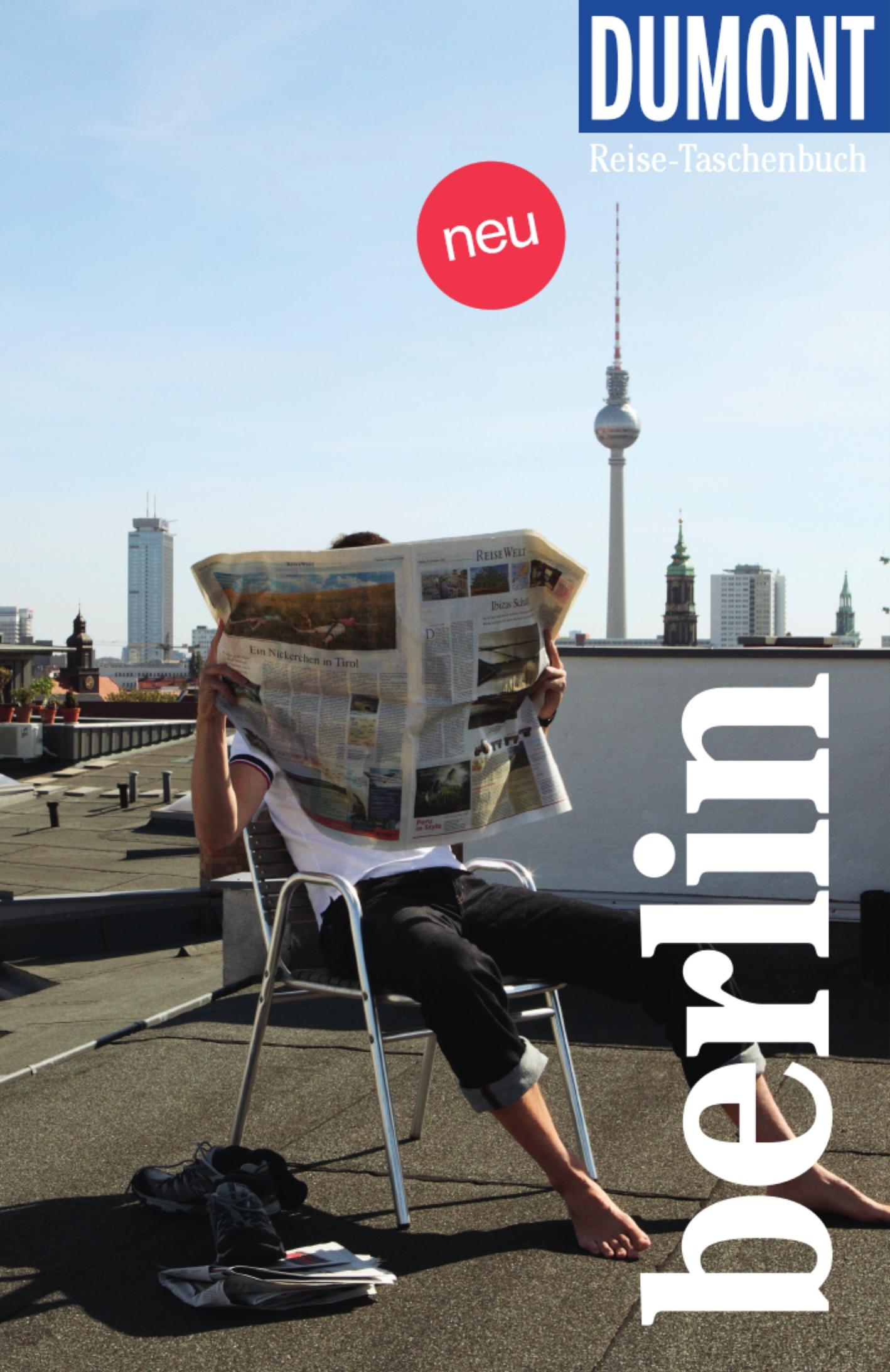 DuMont Reise-Taschenbuch – Berlin (Cover)