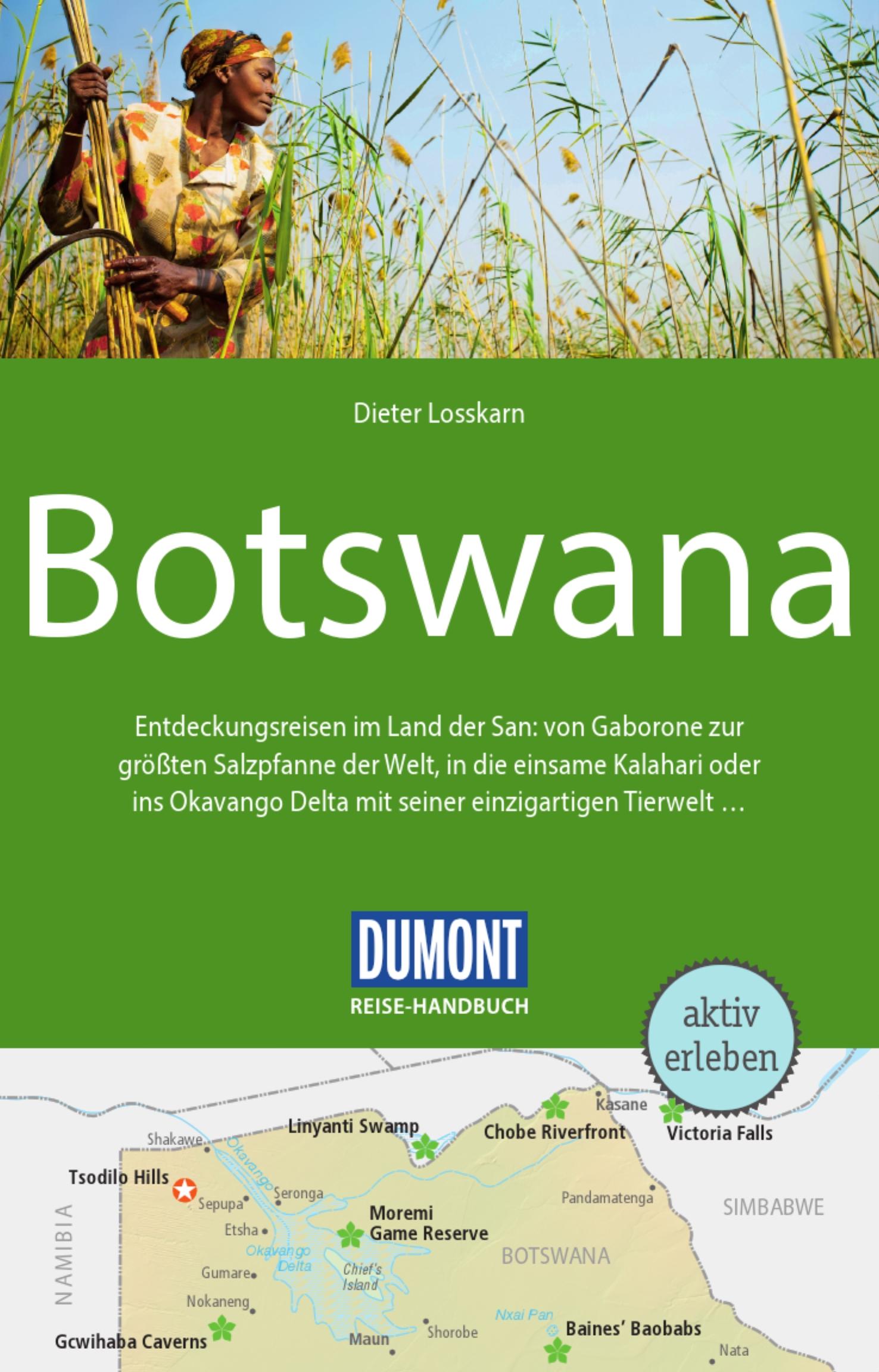DuMont Reise-Handbuch - Botswana (Cover)