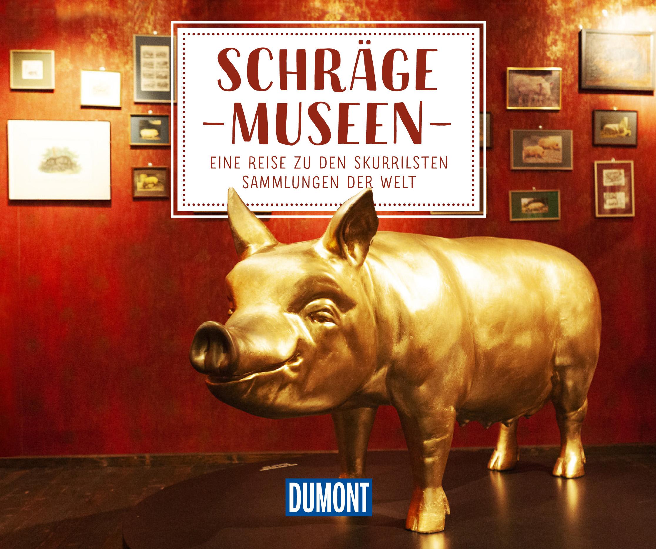 DuMont Bildband - Schräge Museen (Cover)