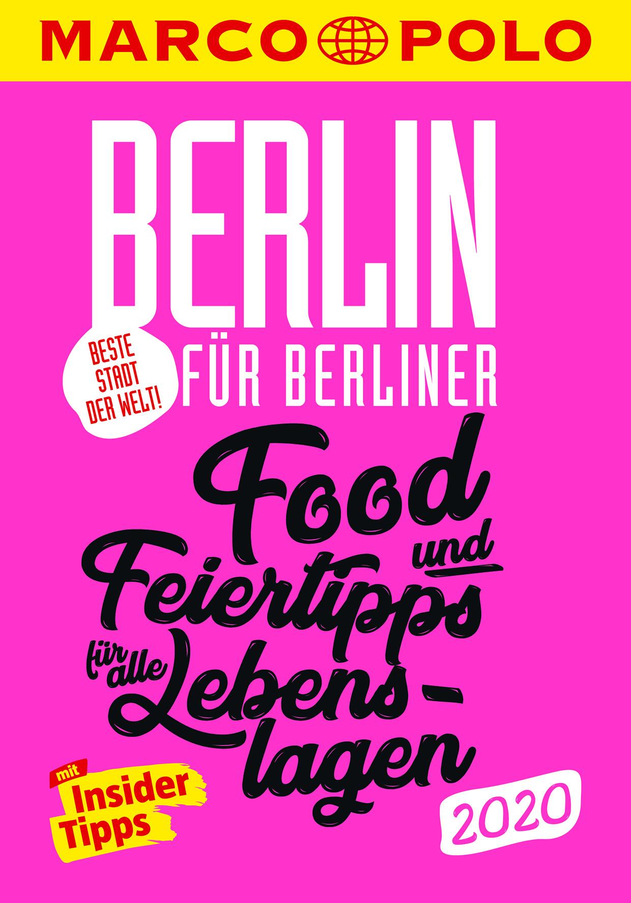 Marco Polo - Beste Stadt der Welt Berlin 2020 (Cover)