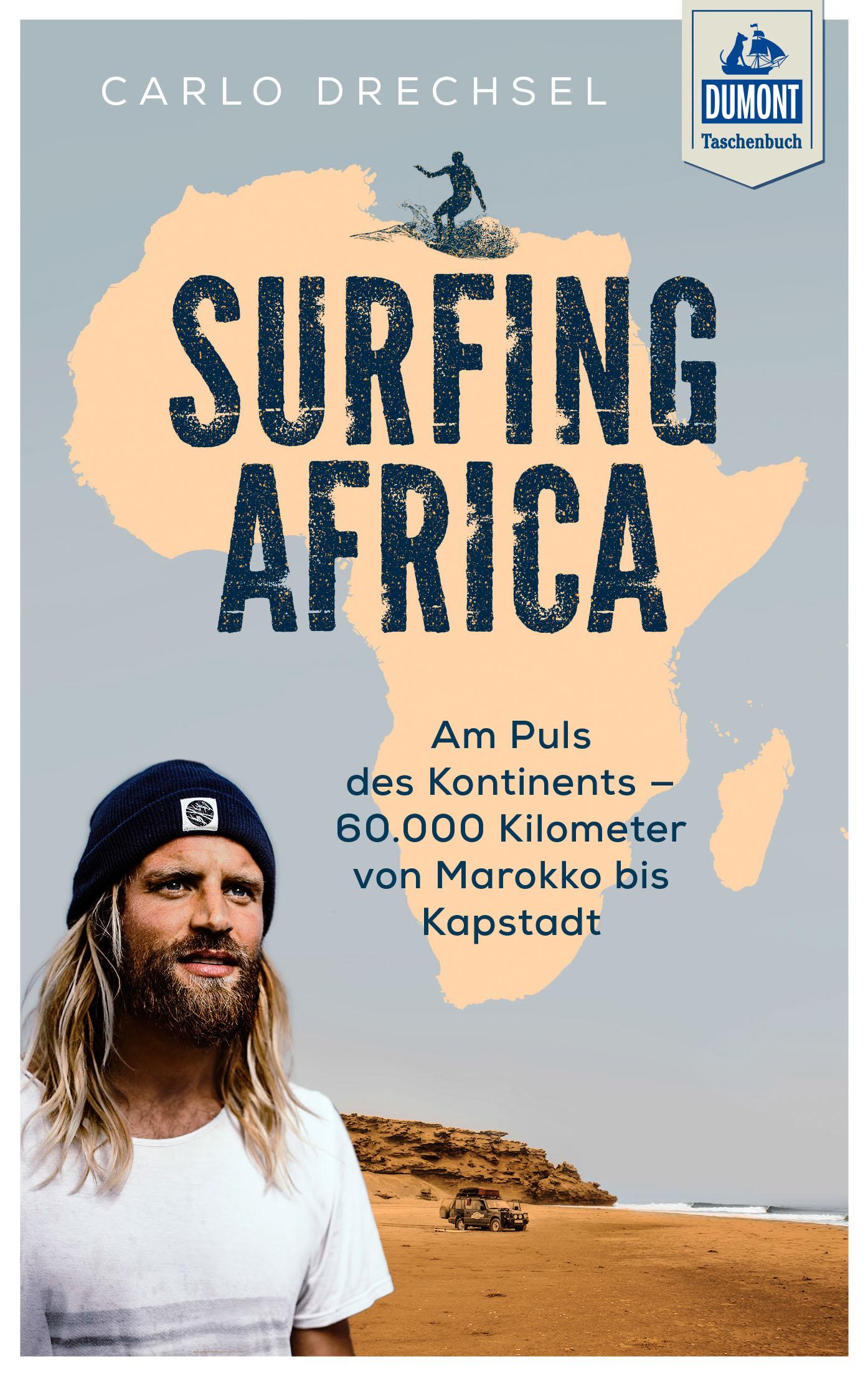 DuMont Taschenbuch - Surfing Africa (Cover)
