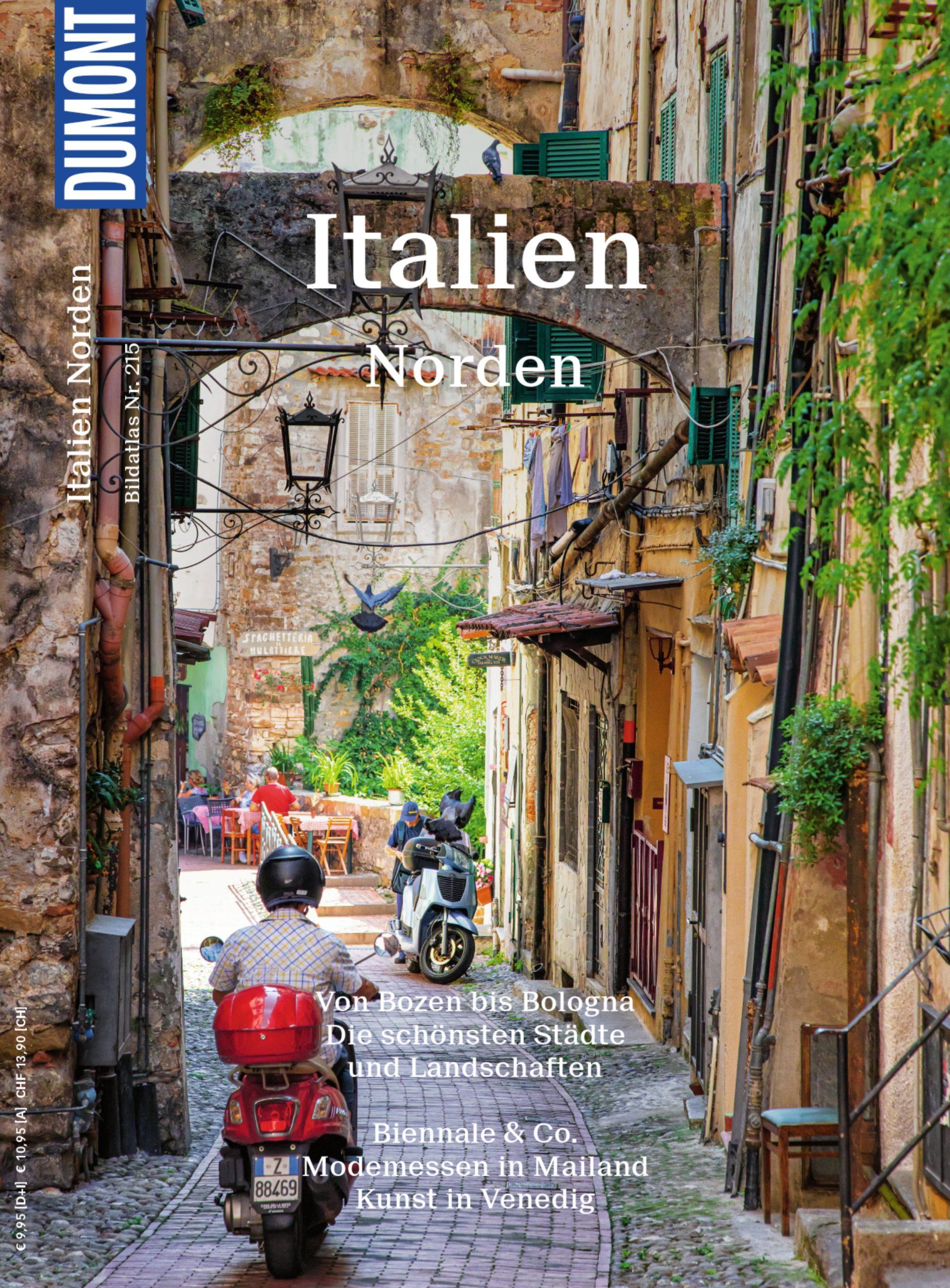 DuMont Bildatlas - Italien Norden (Cover)