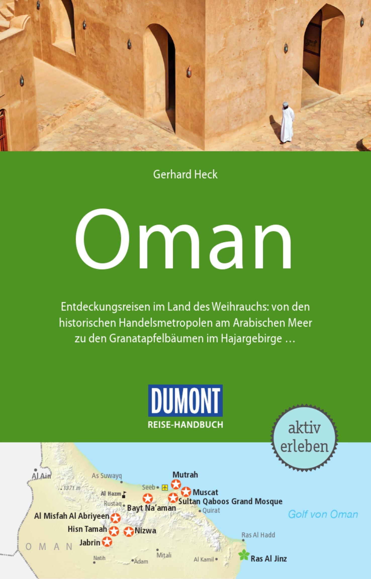 DuMont Reise-Handbuch - Oman(Cover)